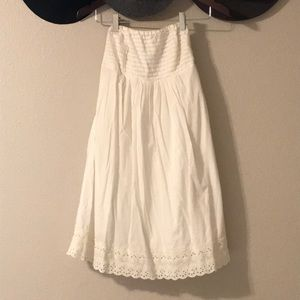 J.Crew strapless chic dress